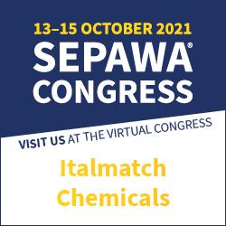 Italmatch Chemicals at SEPAWA Exhibit 2021