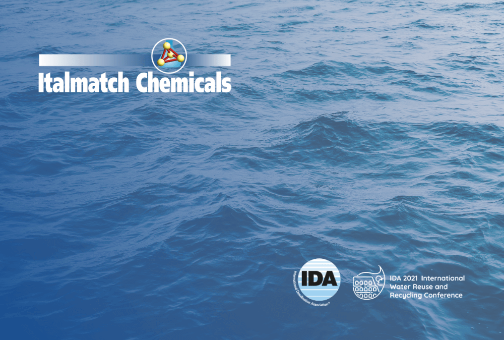 Italmatch at IDA 2021 Water Reuse and Recycling Conference Rome